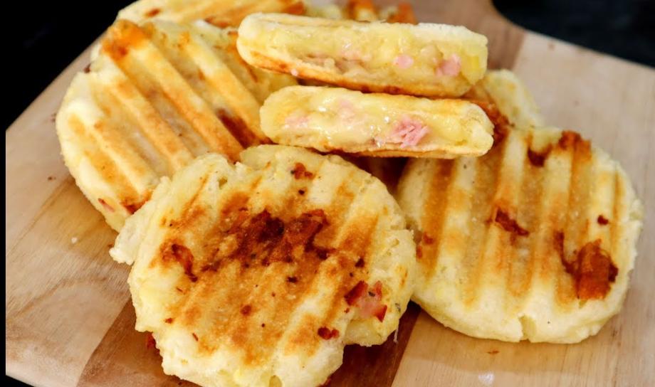 Receita: Pãozinho de Tapioca recheado
