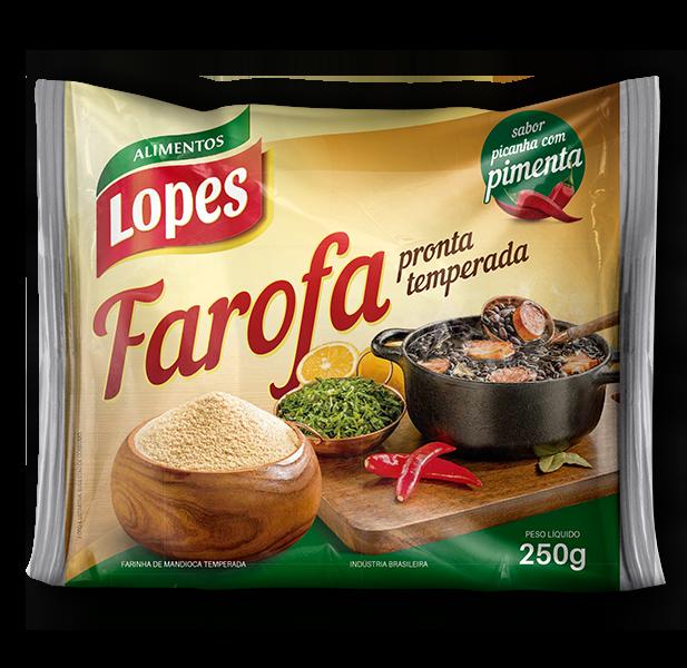 Farofa Temperada Picanha com Pimenta