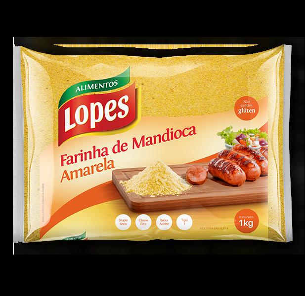 Farinha de Mandioca Amarela