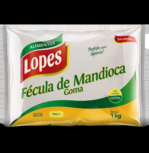 Fécula de Mandioca - Goma